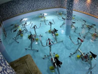 L'aquabiking pour perdre du poids