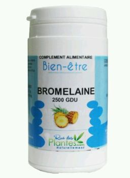 Bromélaïne, bienfaits de la bromélaïne, vertus minceurs bromélaïne, bromélaïne anticellulite