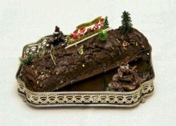 bûche de Noël non calorique, recette bûche de Noël non calorique, bûche de Noël minceur, bûche de Noël faibles calories