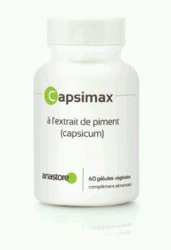 capsimax, extrait capsicum