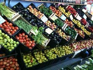Photo illustrant les aliments sains