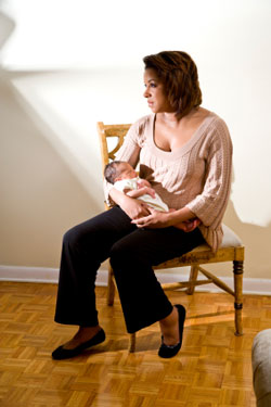 Retrouver la forme après l'accouchement